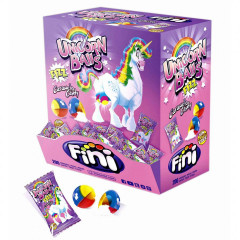 "Карамель леденцовая ""Unicorn balls"" кислые 5гр  х 200шт х 6 /FINI Испания/"