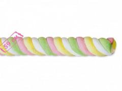 Суфле «Олимпик II косичка разноц с зеленым цвет  - 1 палочка суфле 60гр» 3,42кг х 4 /FINI Испания/