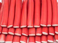 "Мармелад жев. Saadet""Палочки гигантские Клубника (60гр)"" HALAL 1,8кг х 6 / SAADET Турция"