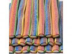 """***Жев.мармелад """"Гигантские палочки 6-цветные в сахаре"""" 1,65кг х 9/DAMEL Испания/"""