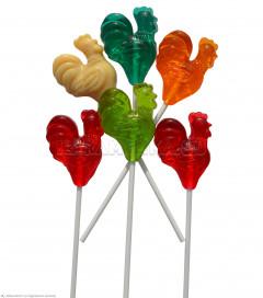 Леденцы Петушок маленький  (разноцветный) 20гр * 120шт (2 блока * 60шт)