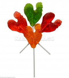 Леденцы Петушок (разноцветный)40гр * 80 шт (2бл * 40шт)